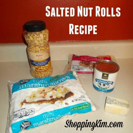 Homemade Salted Nut Rolls Recipe